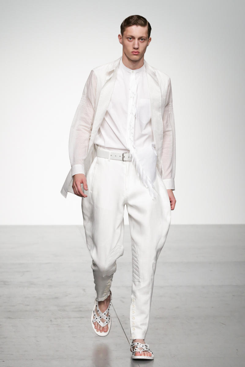Songzio 2018 Spring Summer Collection London Fashion Week Men's