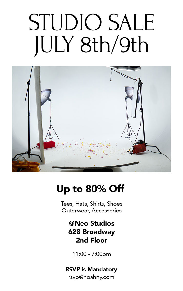 Noah Studio Sale 4th July Sale 80% off