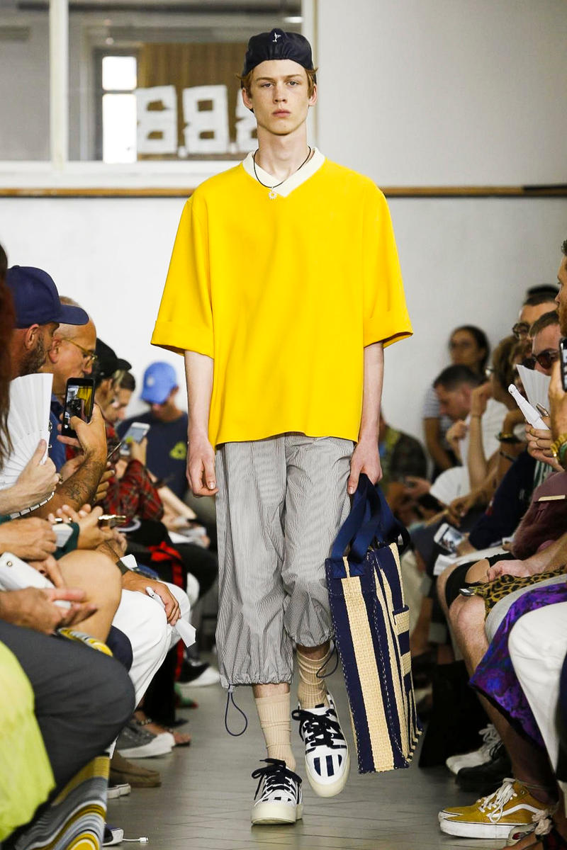 SUNNEI 2018 Spring Summer Collection Milan Fashion Week Men's