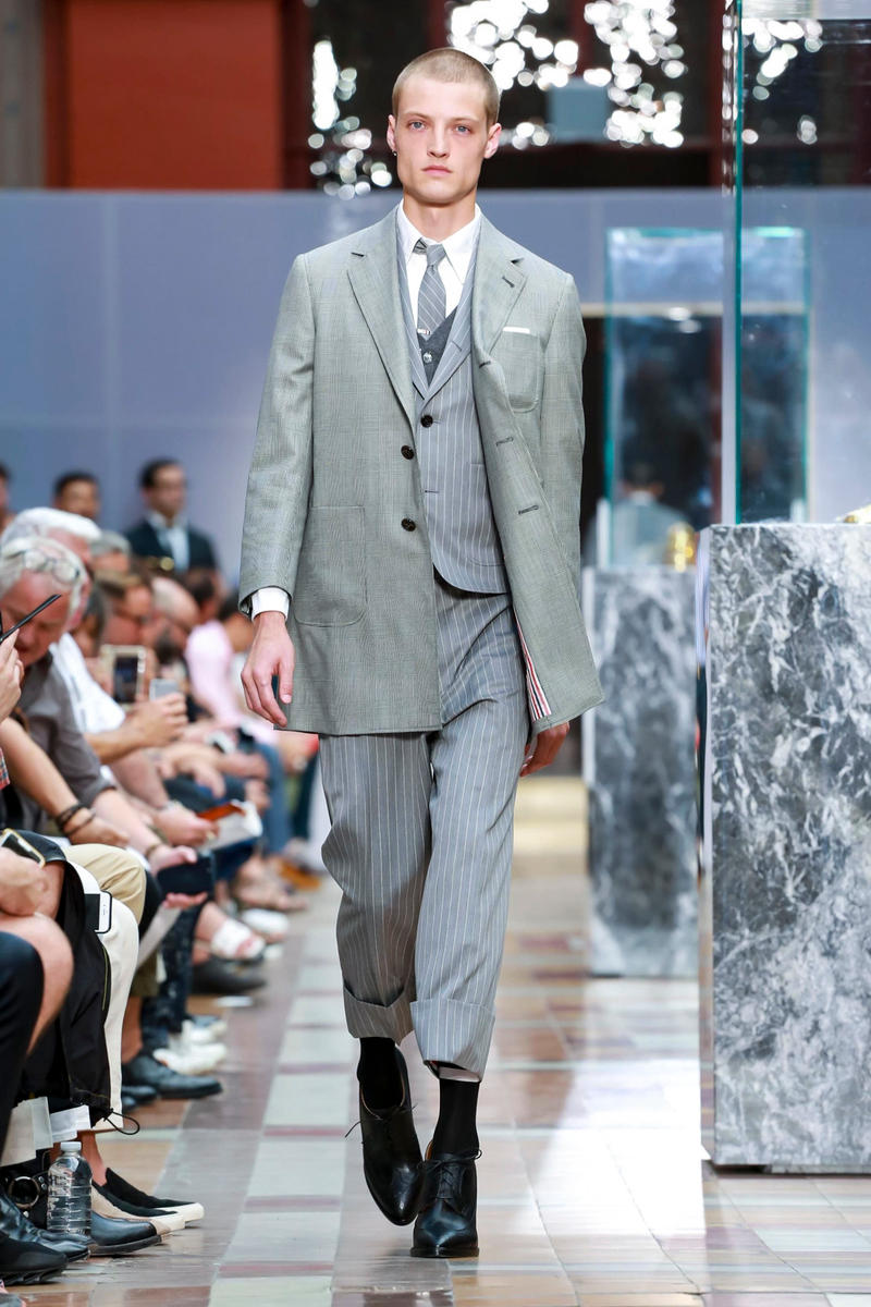 Thom Browne 2018 Spring/Summer Collection Paris Fashion Week Men's
