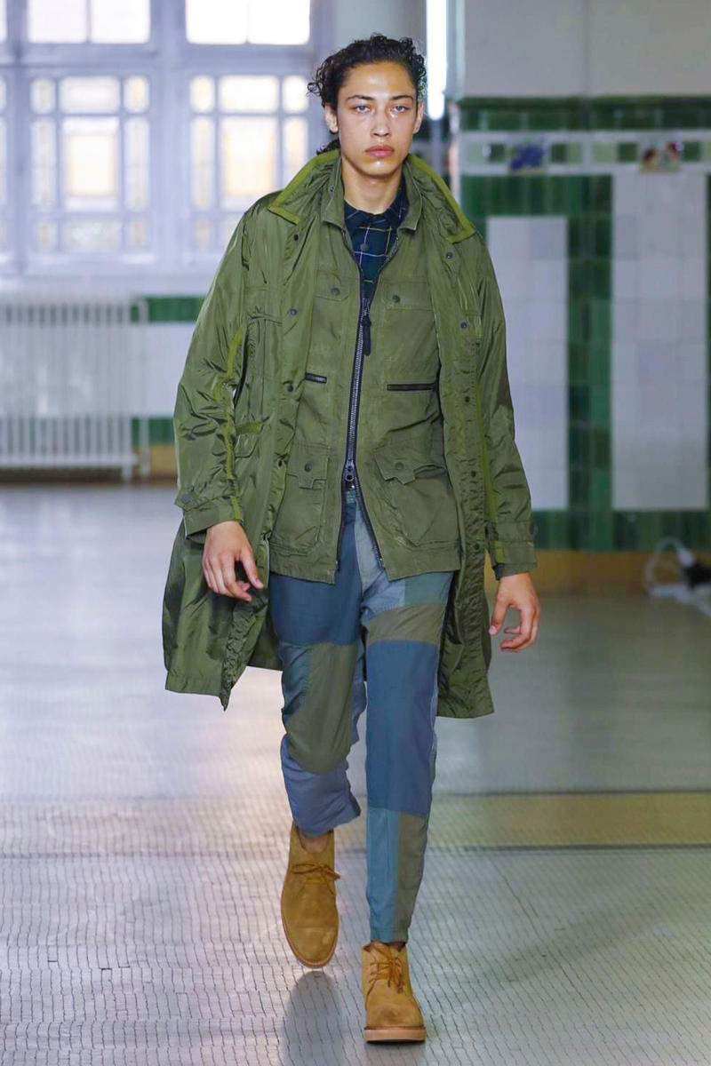 White Mountaineering 2018 Spring/Summer Collection Paris Fashion Week Men's ss18 pfw runway photos