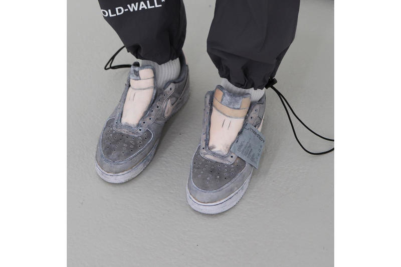 90611ae31ed2 A First Look at A-COLD-WALL  s New Bespoke NikeLab Air Force 1 Low