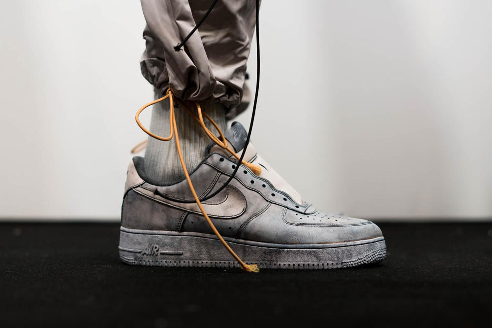 A COLD WALL Bespoke NikeLab Air Force 1 2018 Spring Summer