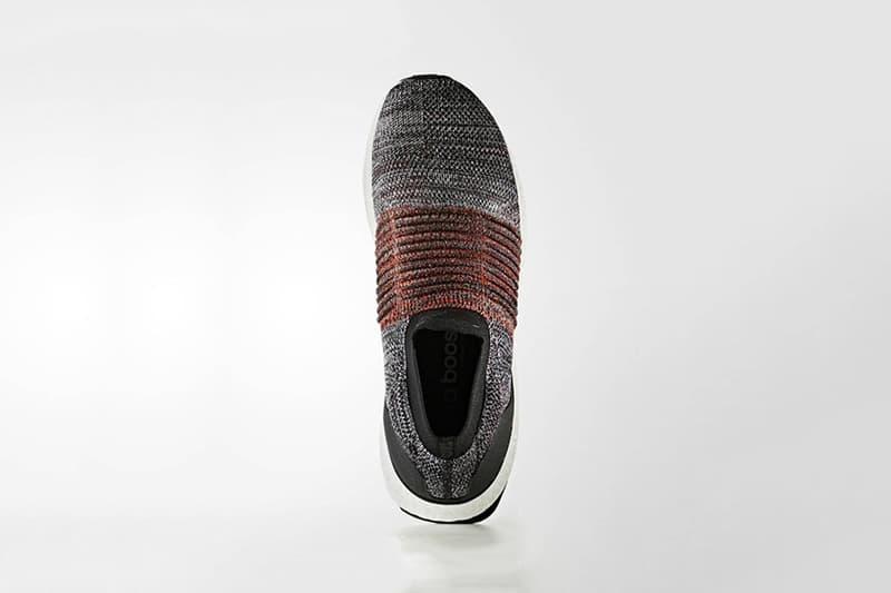 "adidas Laceless UltraBOOST ""Oreo"" Orange Colorway"