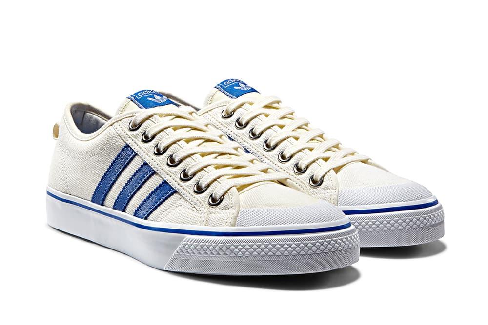 adidas Nizza Hi Lo Cream Blue 1975 Colorway