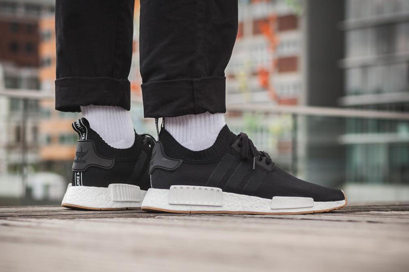 separation shoes 9f5b7 27aa2 adidas NMD R1 Gum Pack On Feet Look | HYPEBEAST