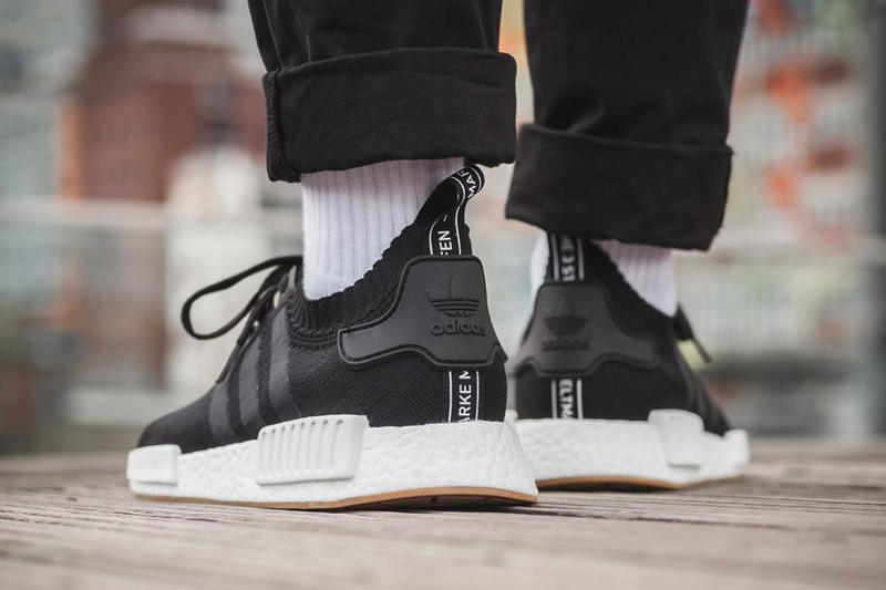 Adidas Nmd R1 Gum Pack On Feet Look Hypebeast