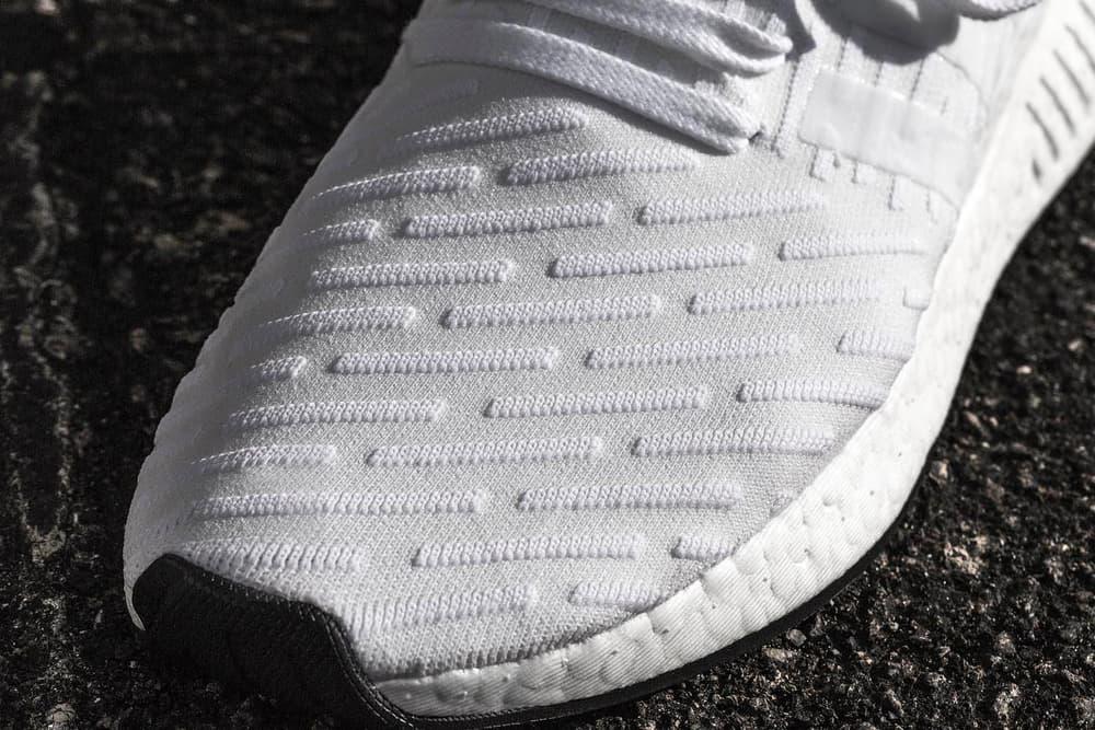 "adidas NMD_R2 ""Footwear White"" Closer Look"