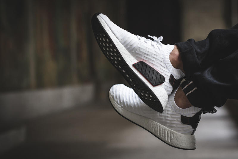 adidas NMD R2 Footwear White Core Black Red