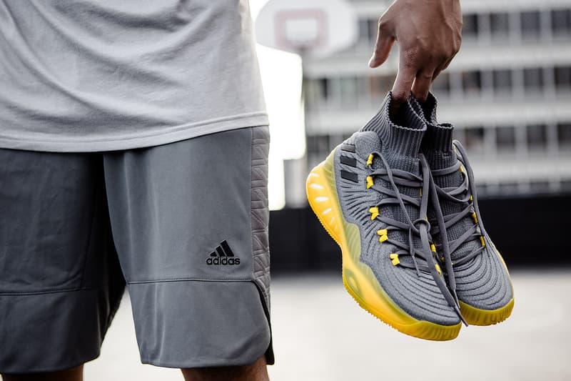 adidas Crazy Explosive 17 Crystal White Solar Yellow
