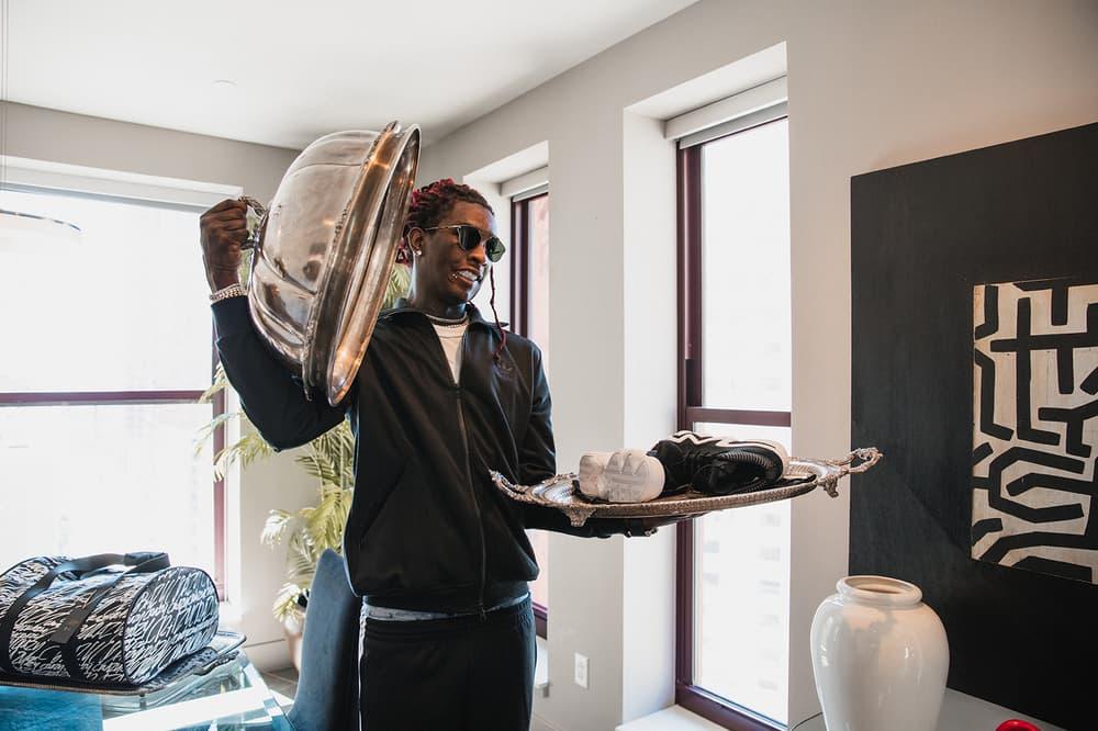 "Young Thug and Playboi Carti Gear Up in adidas Originals ""Crazy"" Campaign Thugger Carti Hip Hop Rap Trap Music game 3 NBA Finals Cleveland Cavaliers Golden State Warriors NBA finals 2017"