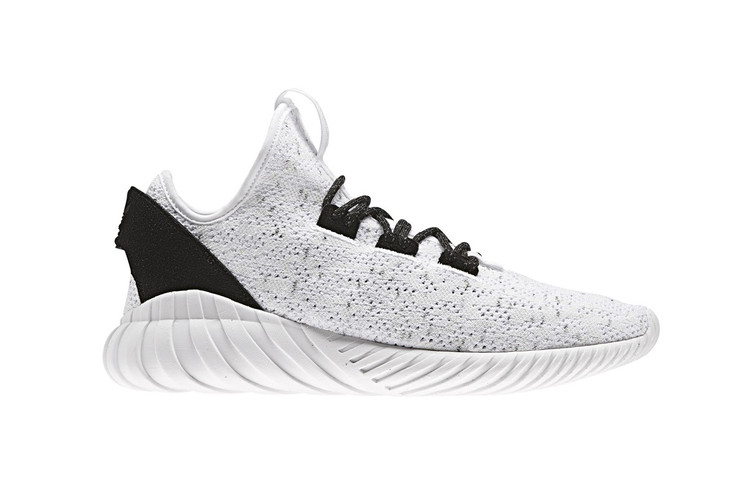 new style 31f26 f7f20 The adidas Originals Tubular Doom Soc Receives a Contrasting Black   White  Colorway