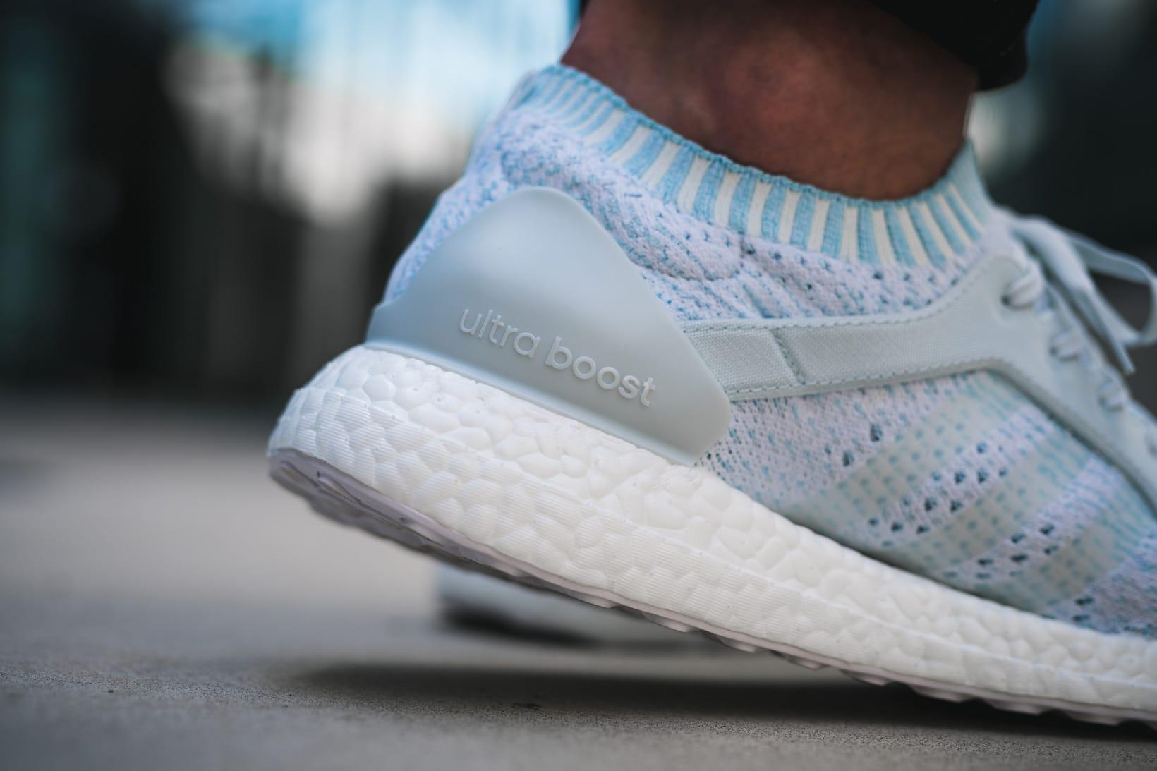 ultraboost x on feet
