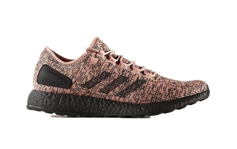 adidas PureBOOST Salmon Three Stripes Running