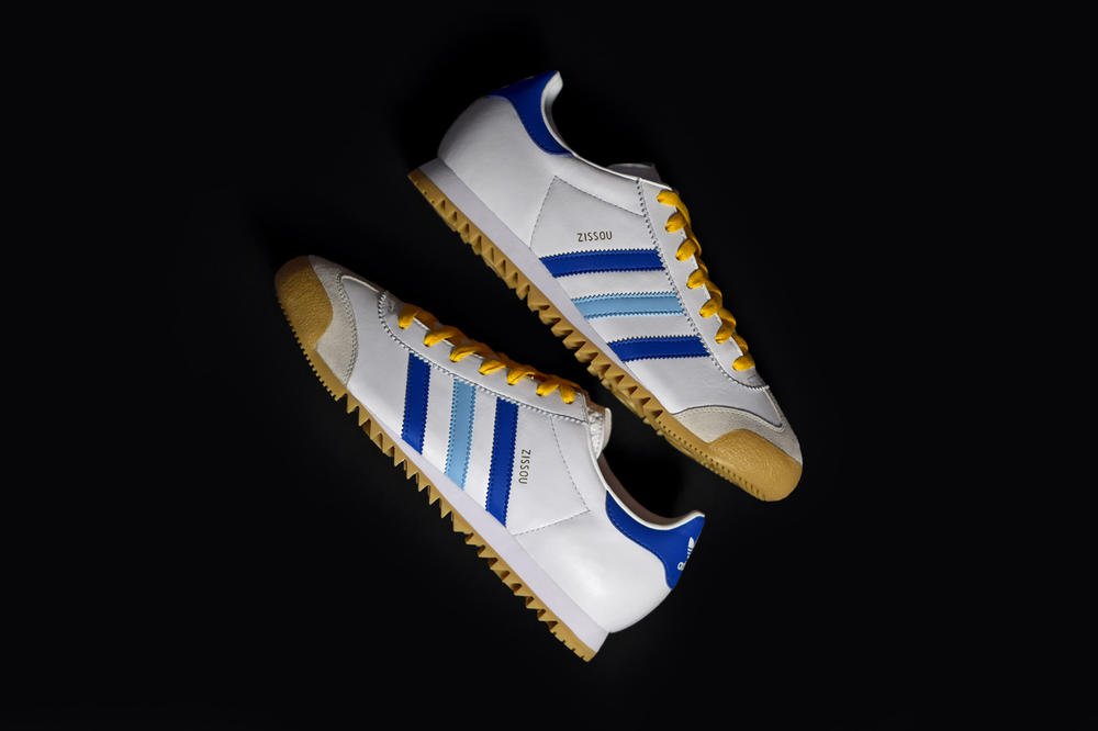 adidas Rom Zissou Limited Edition Sneaker Wes Anderson The Life Aquatic with Steve Zissou Footwear Sneakers Shoes