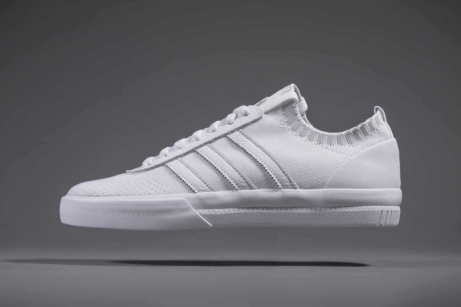 adidas Skateboarding Reveals a Striking White Premiere Primeknit for Lucas Puig Collaboration