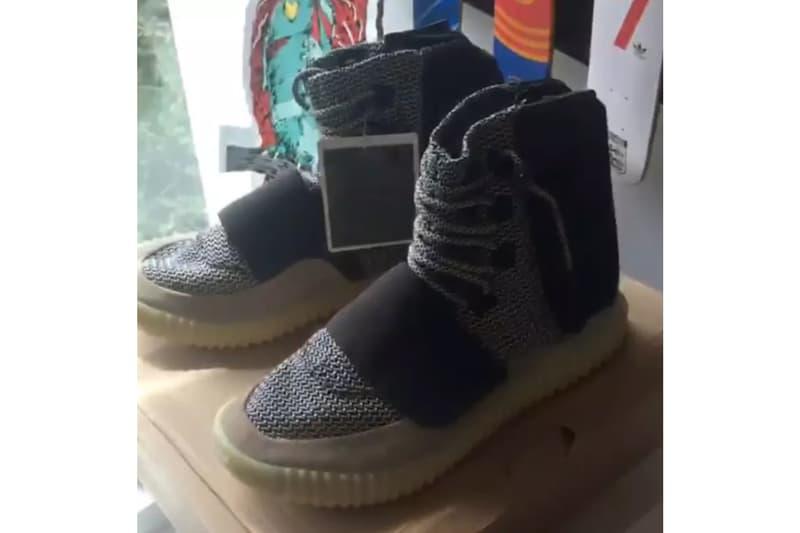 adidas YEEZY BOOST 750 Textile Sample Kanye West YEEZY MAFIA