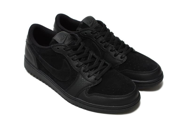Air Jordan 1 Low Premium Sail Black