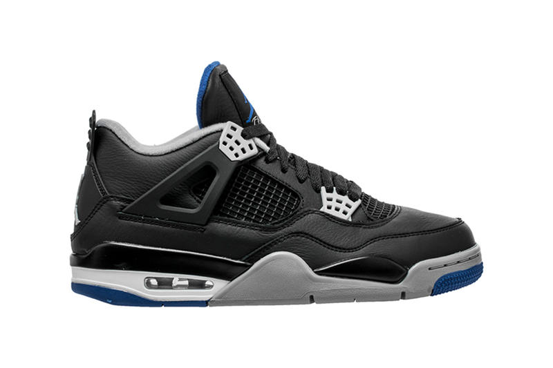 Air Jordan 4 Alternate Motorsport Colorway Colourway Black