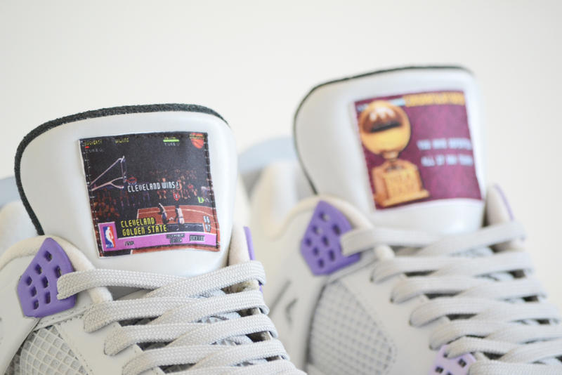 9f83345e0f49e7 Air Jordan 4 SNES US NBA Jam Custom Sneakers
