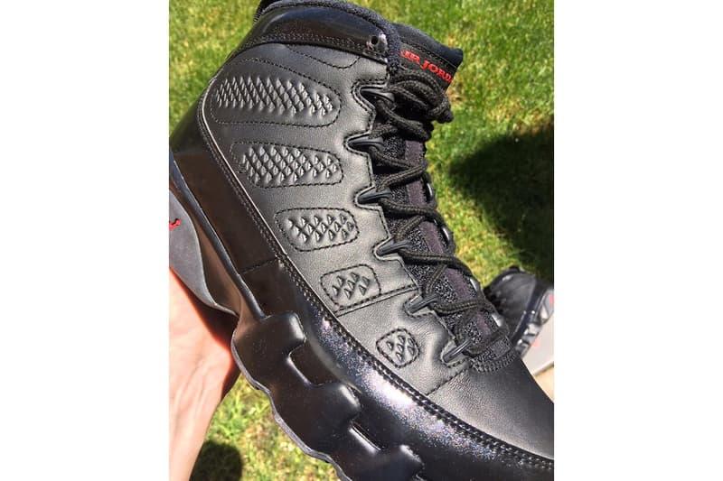 Air Jordan 9 Bred First Look