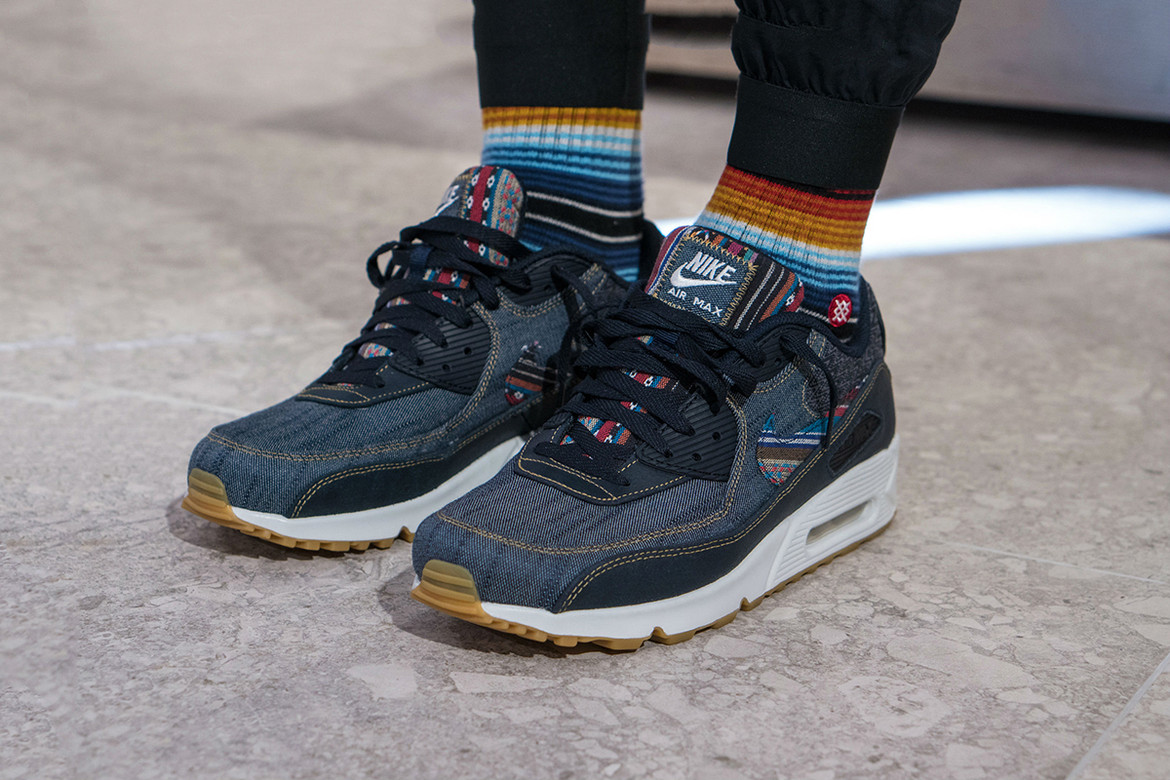 best value new lower prices good Nike Air Max 90 Premium Afro Punk On-Feet | HYPEBEAST