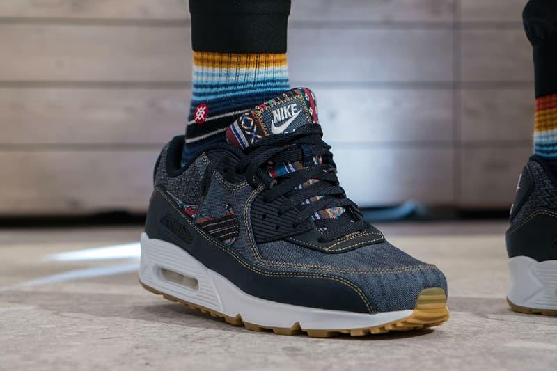 promo code 4c891 5214e Nike Air Max 90 Premium Afro Punk On-Feet | HYPEBEAST