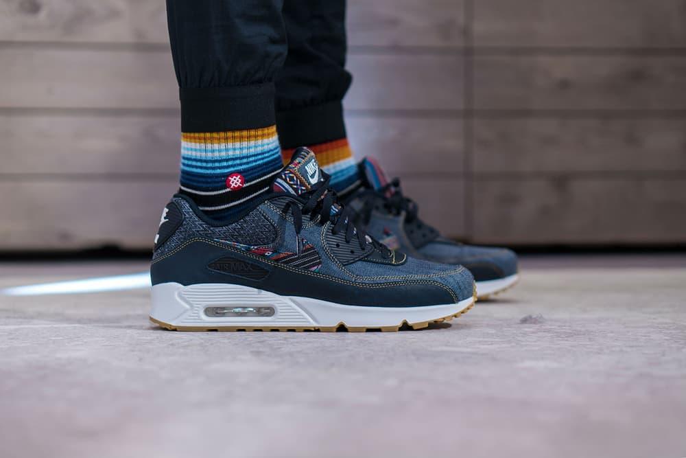 Nike Air Max 90 Premium Afro Punk On-Feet Look