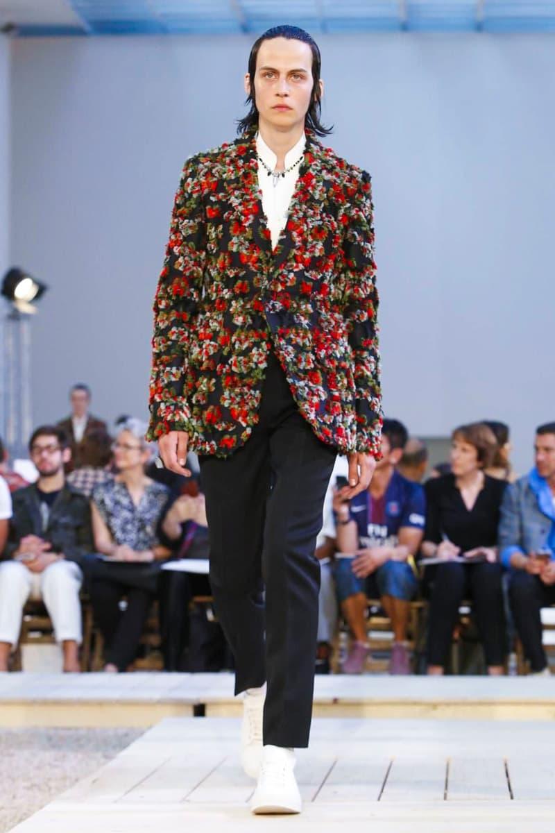 Alexander McQueen 2018 Spring/Summer Collection Paris Fashion Week Men's