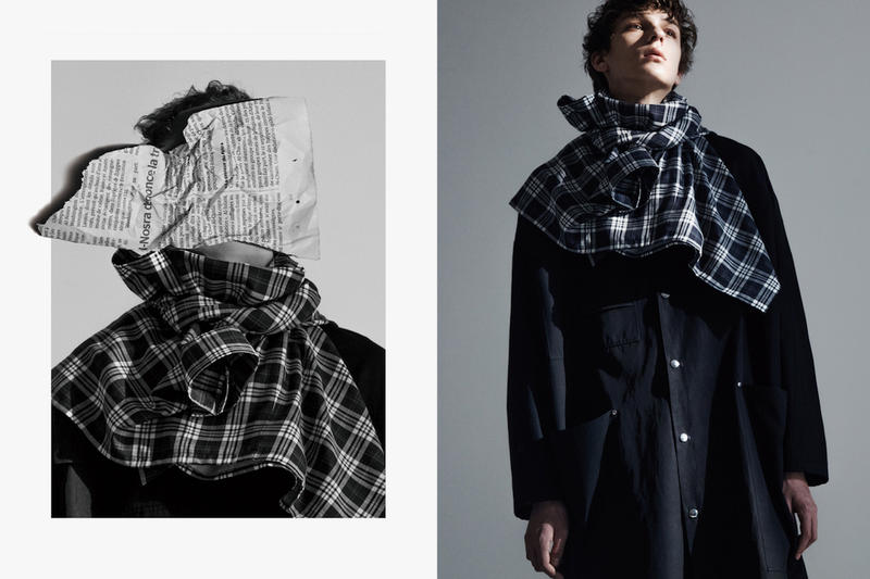 ALMOSTBLACK 2017 Fall Winter Collection Lookbooks