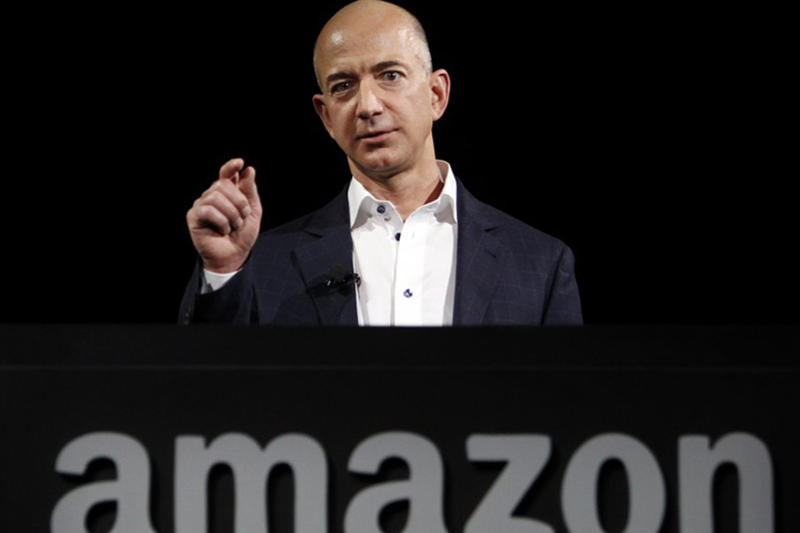 Amazon Nike Announcement Competitors Jeff Bezos JC Penney Foot Locker