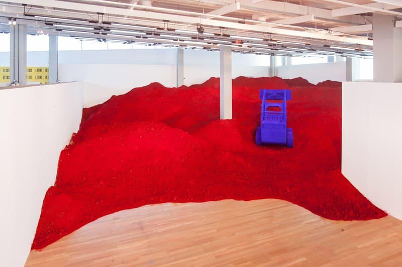 Anish Kapoor Destierro Exhibition Argentina Installation Parque de la Memoria Artwork Exhibit Arts