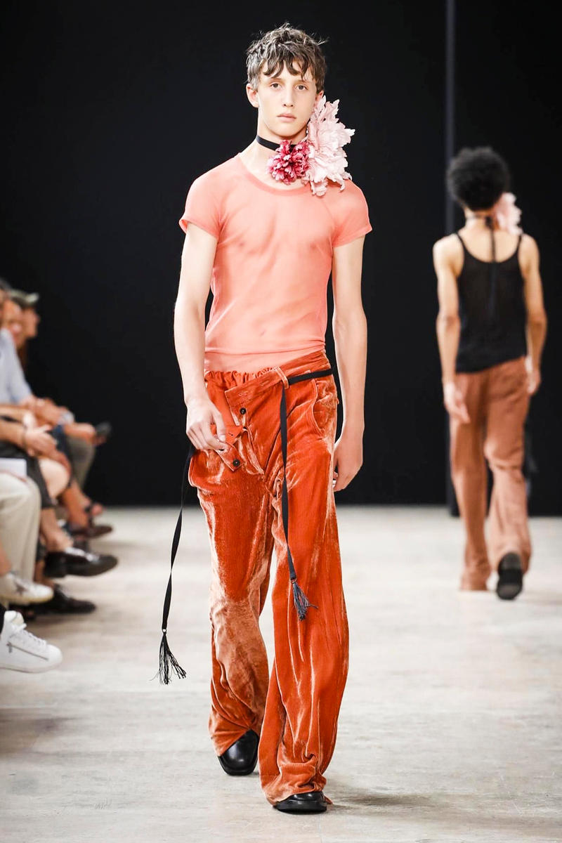 Ann Demeulemeester 2018 Spring/Summer Collection Paris Fashion Week Men's Runway Show