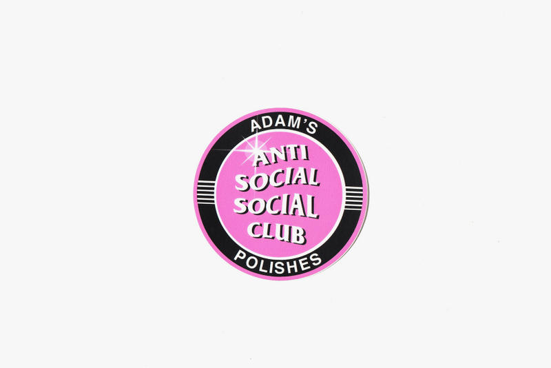 Anti Social Social Club Adams Polishes Car Cleaning Kit Detail Spray Tire Shine Glass Cleaner