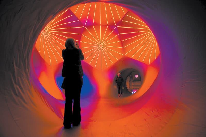 Architects of AIR Luminarium Columbia Festival of the Arts Installation Sculpture Design