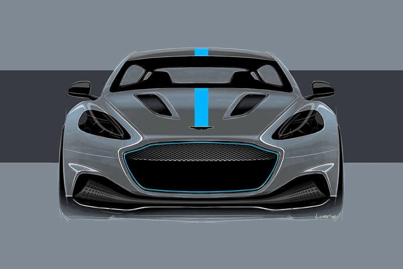 Aston Martin All Electric RapidE Announcement