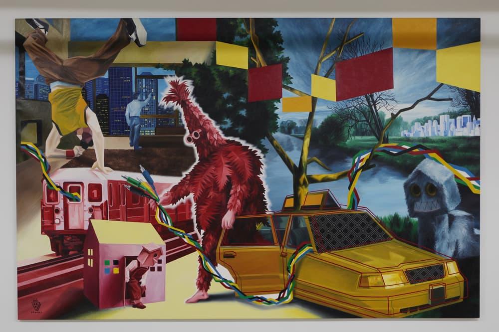 Avenue des ArtsNew Gallery Downtown Los Angeles Artwork Murals Hopare Pez Matt Gondek Pixel Pancho MonkeyBird Seen Kan Nicolas Giquel