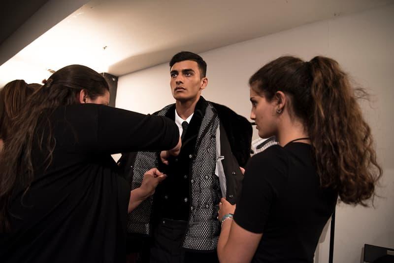 Moncler Gamme Bleu 2018 Spring/Summer Backstage Milan