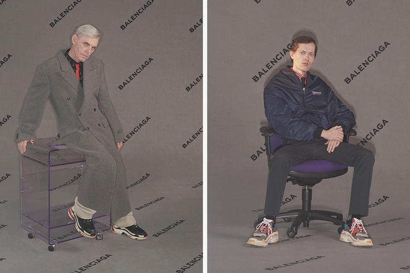 Balenciaga 2017 Fall/Winter Collection Pre-Order Bernie Sanders Lookbooks