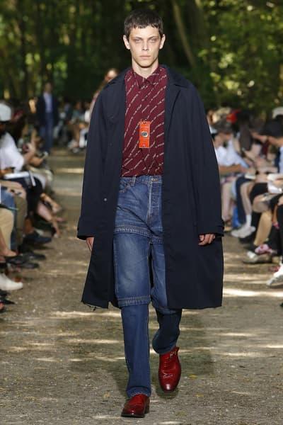 Balenciaga 2018 Spring/Summer Paris Fashion Week Men's Runway Show