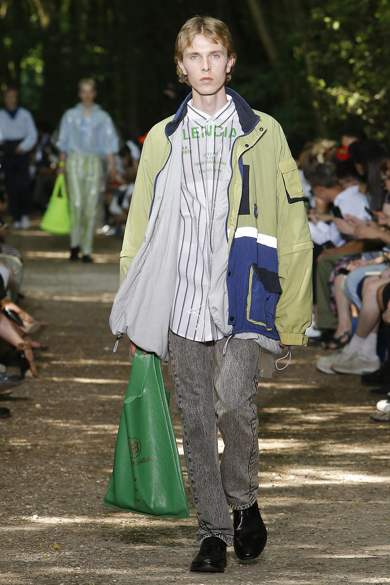 Balenciaga 2018 Spring/Summer Paris Fashion Week Men's Runway Show