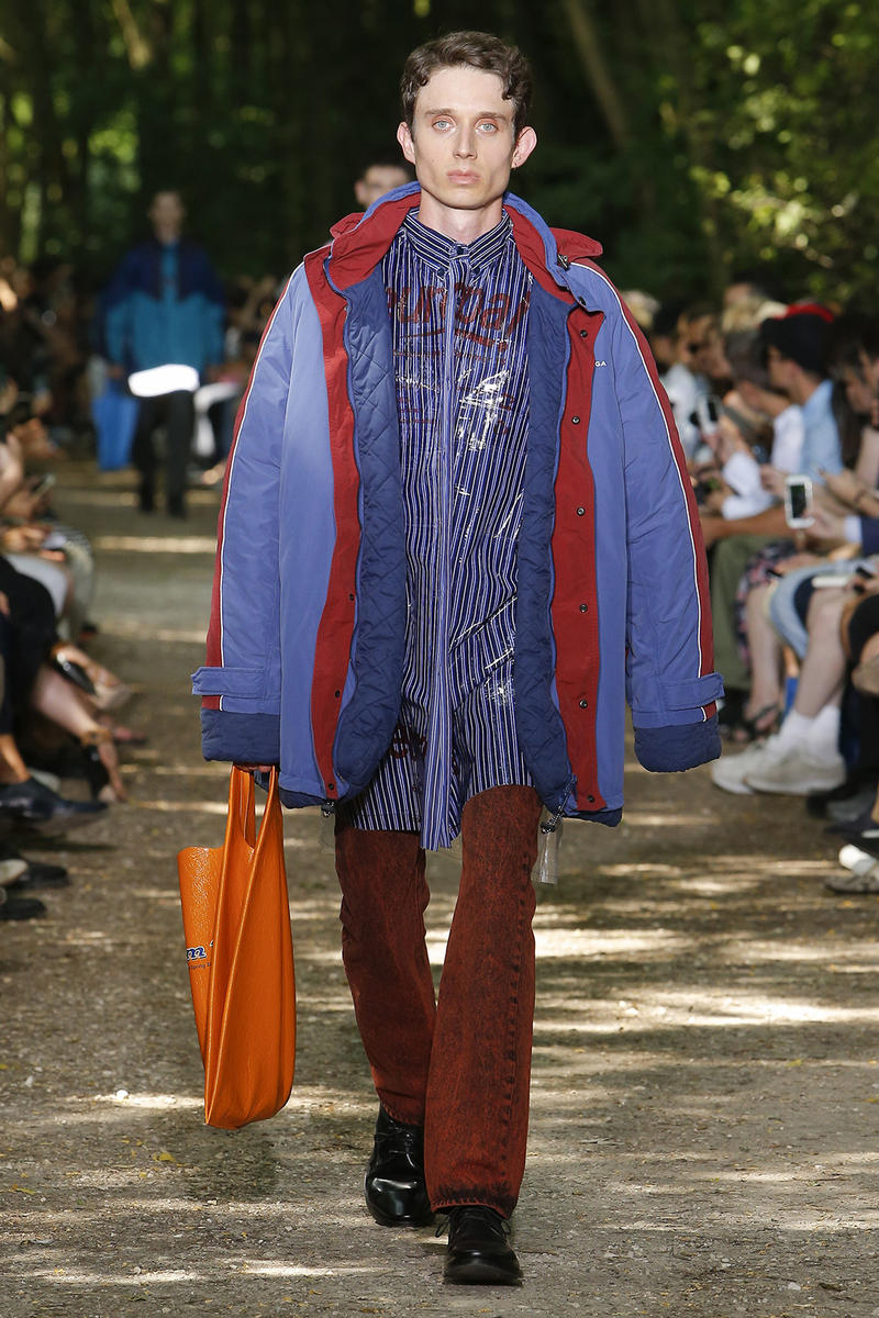 Balenciaga 2018 SpringSummer Paris Fashion Week Mens Runway Show