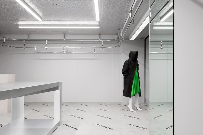 3930d23469 Balenciaga Madison Avenue Store New York City Demna Gvasalia Fashion Luxury  Retail Design Architecture