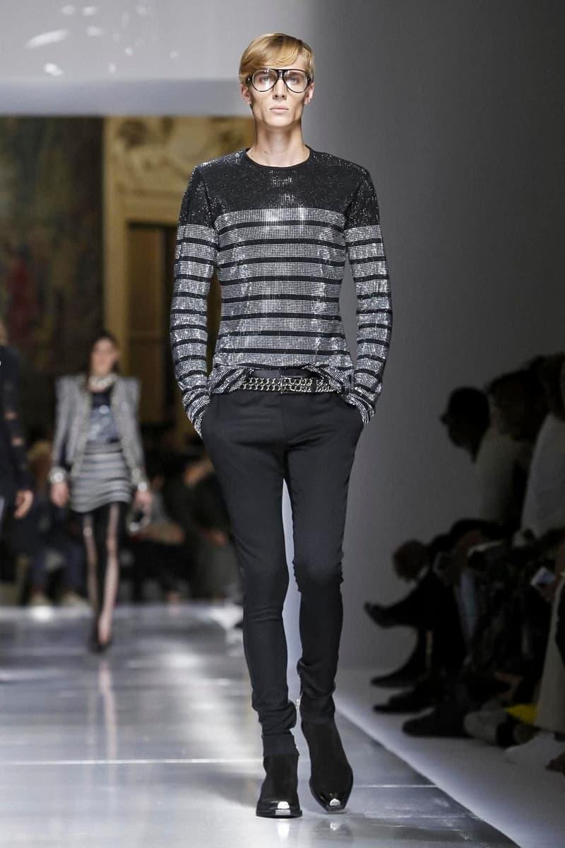 Balmain 2018 Spring/Summer Collection Paris Fashion Week Men's ss18 pfw Olivier Rousteing