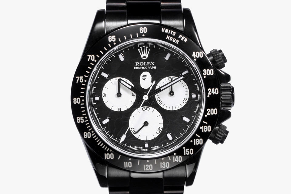 Bape Rolex Bamford Watch Daytona And Gmt Models Hypebeast