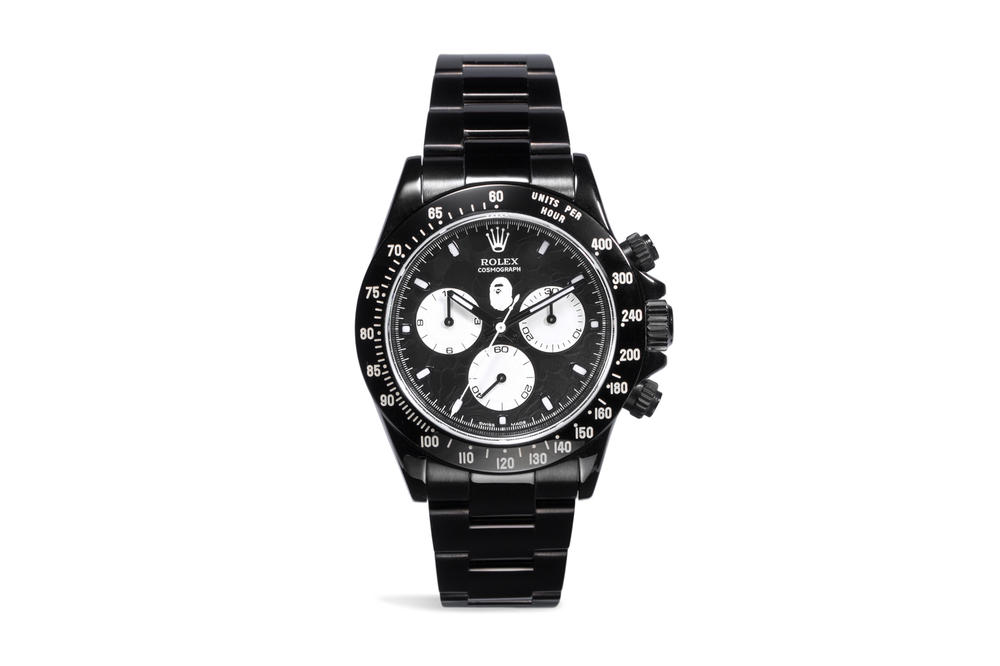 BAPE Rolex Bamford Watch Department BWD GMT Daytona