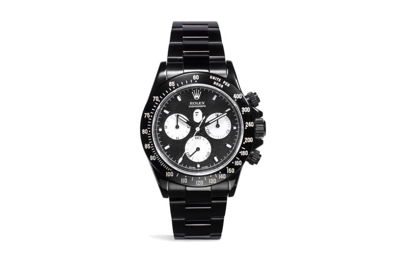 BAPE Rolex Bamford Watch Department BWD GMT Daytona
