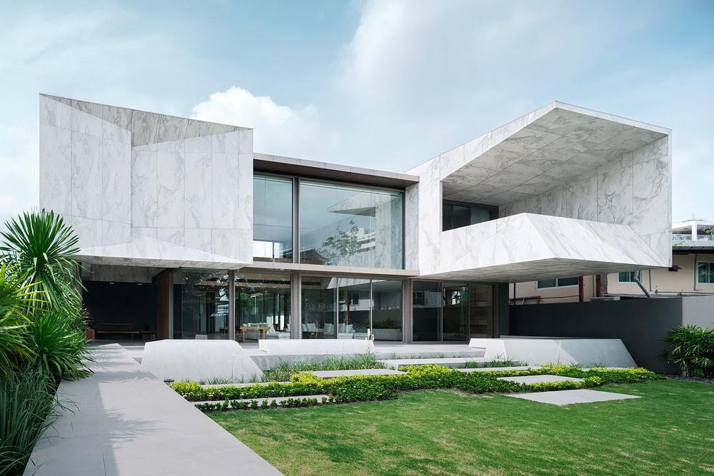Bangkok Thailand Marble House Openbox Design | HYPEBEAST