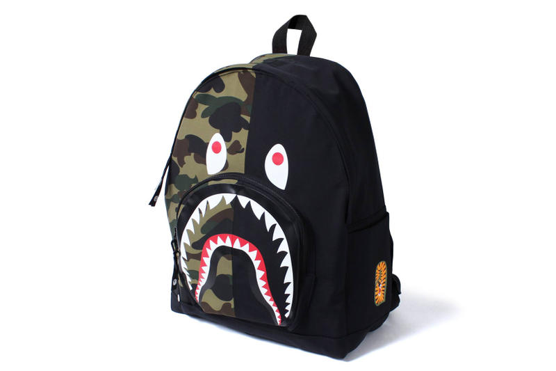BAPE 1ST CAMO Shark Day Pack Accessories