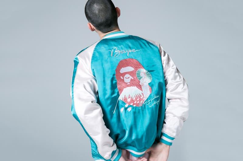 BAPE Fashion Apparel Clothing Accessories Streetwear Souvenir Jacket Teal